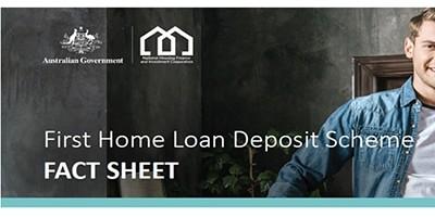 First Home Loan Deposit Scheme이