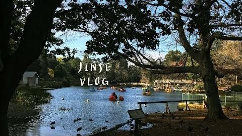 JINSE 진세 | 호주 멜버른 일상브이로그, 브라이튼 비치 산책, 단데농 드라이브, 사사프라스 동네 구경, 브런치, 퍼핑빌리 증기기관차 구경, 호숫가 산책, 올린다 마을 구경
