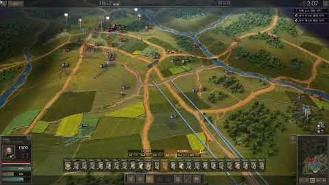 UG: CW연방군 플레이 6화(멜번 전투~2차 불런 전투