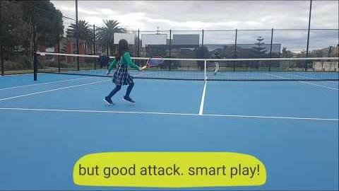 호주 멜번 테니스/연습과 놀이사이/Tennis in Melbourne/between play and practice