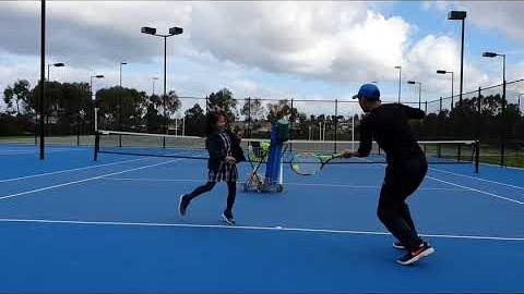 테니스 멜번/부모님 아이 꼭! 보세요/tennis in Melbourne/Parents and kids together/
