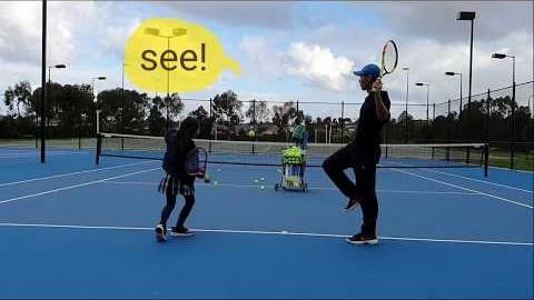 호주 멜번 테니스/서브 팁!끝까지보세요/Tennis in Melbourne/2 good serve tip