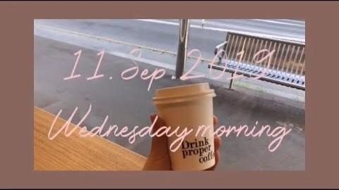 [Eng] 멜버른거주2년차! 새내기 대학생의 공강날 아침/  MELBOURNE NEW CAFE VLOG / 일상 카페 브이로그