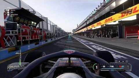 [PC게임] F1 2018 호주 멜버른 퀄리파잉