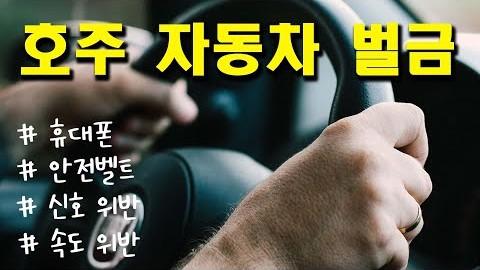 호주 자동차 범칙금 총정리, 주별 자동차 벌금 및 벌점 | 호주 멜번 운전교실 | 운전면허