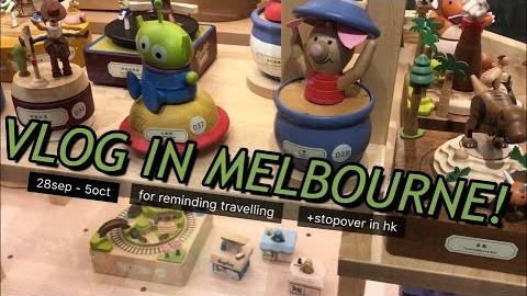 멜버른, 처음 만난 곳 다시 가보기 / 홍콩 스탑오버, 호주 여행 브이로그