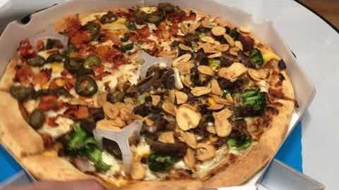 트래블앤아트 강서 AIRPORT 멕시코 핫n스파이시치킨 피자 / 멜버른 갈릭스테이크 피자 + 치킨텐더 4pcs │gopro7 (4K)