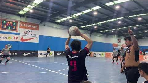 [FC Unbeaten Senior team] 멜번 한인 풋살 클럽 FutsalOz State 2 VS Melbourne Uni Second half
