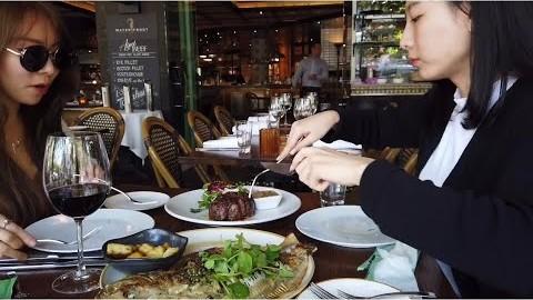 멜번여행 야라강에서 스테이크 썰기 젤라또 브이로그 Melbourne Vlog yarrariver