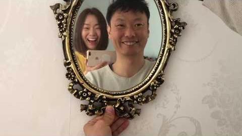 멜번부부 | 빈티지 거울 셀프 페인팅 | Vintage Mirror Repainting
