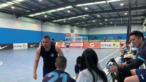 [FC Unbeaten Senior team] 멜번 한인 풋살 클럽 FutsalOz State 2 VS Toorak Second half
