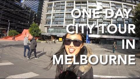 멜버른에서의 하루 One Day in Melbourne with Go Pro 7 hero
