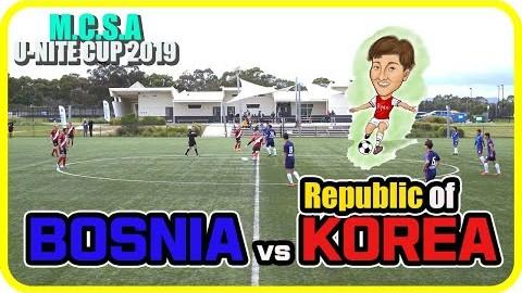 호주 멜버른 RYAN's Vlog. MCSA U-NITE CUP 2019 한국vs보스니아 예선 3차전 *영상 짧음 주의*