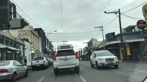 멜번 멜버른에서 운전 할 때 주의사항