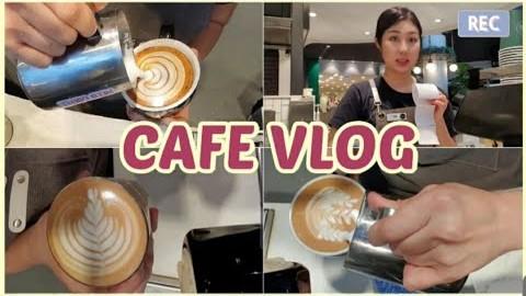 #16 호주 멜번 카페 브이로그 + Soy 소이밀크 팁 | 바리스타 | 라떼아트 | 카페알바 | 멜버른워홀 | 호주브이로그 | 해외브이로그 | 호주학생