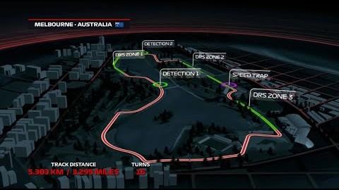 F1 2019 라운드1 멜버른