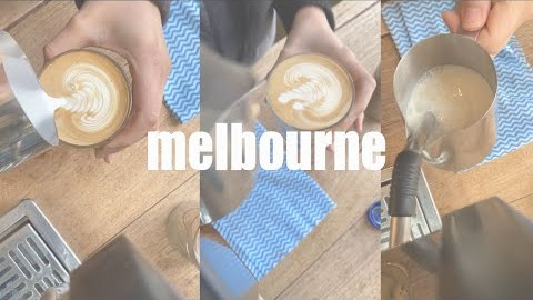 ep01_ coffee with aube (멜번, 바리스타, 코로나, 그만..)