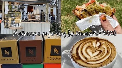 ENG) Melbourne vlog 호주 멜버른 일상 브이로그- 홈카페, 카페로그, 커피 먹방, 네스프레소, cafe tour, coffee, Nespresso