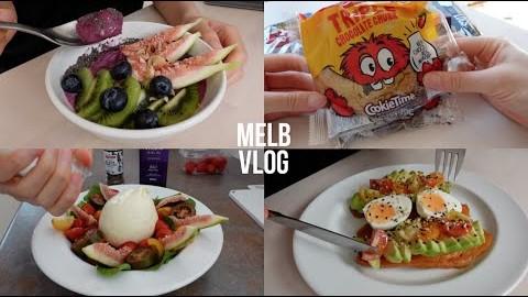 ENG] 멜버른 먹방 브이로그, 집순이 일상   송파 바쿠테 만들기, 고구마 토스트, 브라타 치즈 샐러드, 스무디 볼, 쿠키타임 Melbourne Vlog
