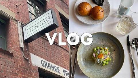멜버른 브이로그 ???????? | 앵겔지수의 정점을 찍은 일주일 브이로그, 에클레어 뷰티 속눈썹 & 페디, 파인다이닝 Kazuki's