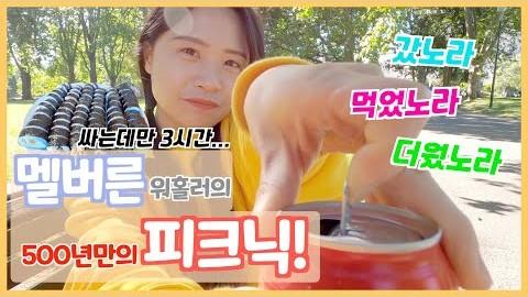 호주 워홀 브이로그(????????VLOG)예쁘게 김밥 싸서 피크닉 다녀온 멜버른 워홀러의 일상 브이로그 A Day in the life with Korean Kimbab