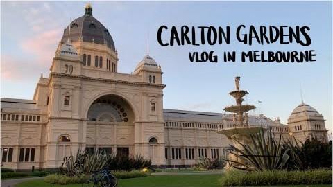 Carlton Gardens VLOG 칼든 가든스 | Melbourne 멜번 | 호주 약대 유학생 | 멜번 시티 melbourne cbd | 공원 산책 |