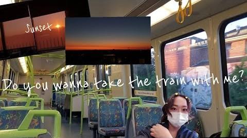 멜버른 브이로그/석양맛집 같이 기차 탈까요?