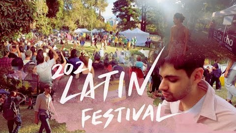Latin festival in Melbourne 2021! 2021년 멜번의 라틴 페스티벌!