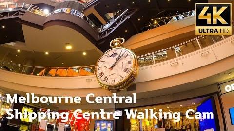 4K 30fps walking Melbourne Central Shopping Centre (11.06.2021)ㅣ멜번센트럴 쇼핑센터 워킹캠 #gopro8 #Australia