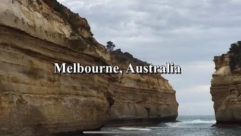 호주 멜번 4분 랜선 여행 / #AUS #Melbourne