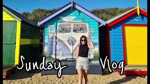 멜번 브이로그 | Melbourne Vlog | Crooked Letters | Royal Botanic Gardens | Brighton Bathing Boxes | 부부 일상