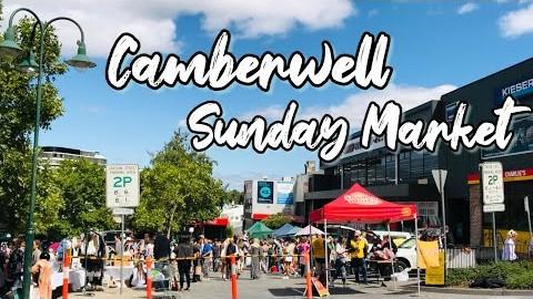 [호주일상-VLOG] | 캠버웰 선데이 마켓 | CAMBERWELL SUNDAY MARKET | 멜버른 벼룩시장 | 이탈리아 음식점  Sofia Restaurant |