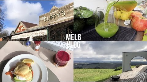 ENG/KOR] 멜버른 일상 브이로그 |  대학친구들과 Daylesford 여행 | 휴롬 착즙기 | 건강 주스 만들기 | 락다운 베이킹