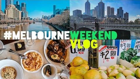 sub) 호주 멜번 vlog | Yarra River | Rockpool Melbourne | Preston Market | Roast Duck&Pork | Korean Study