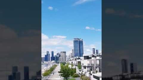 Dockland, Melbourne, Australia, 호주멜번,도클랜드의하늘 #shorts